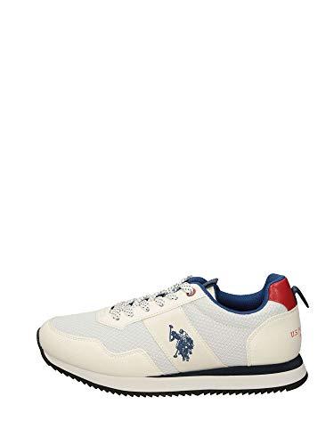 U.S. POLO ASSN TALBOT3 White NOBIL 4215S8/HN3 Sneaker per Uomo, 41