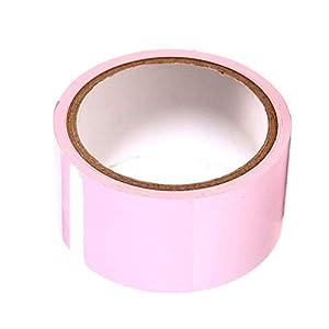 BESTOYARD Adult Bondage Tape Red statische Fesseln Flirten Spielzeug Bindgürtel für Paare 10m (Pink)