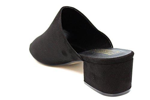 Mr Shoes, Zoccoli donna nero Black 0 Black