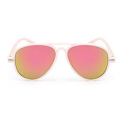 LUFA Mode Enfants UV400 lunettes de soleil pour enfants Mirrored