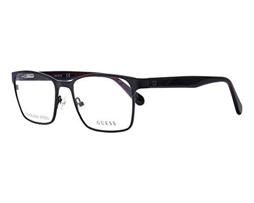 Guess Brille (GU-1961-V 005) Acetate Kunststoff - Metall matt schwarz - glänzend schwarz