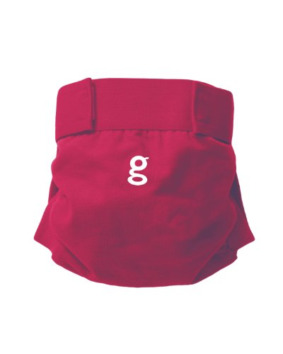 Gnappies Little Gpant Goddess Pink, Medium Reuseable Nappies