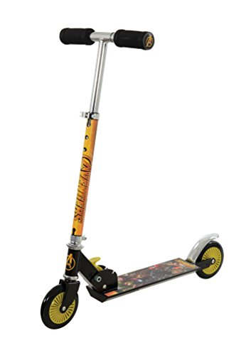 Disney Avengers Infinity War M14532 Folding Inline Scooter, One Size Best Price and Cheapest