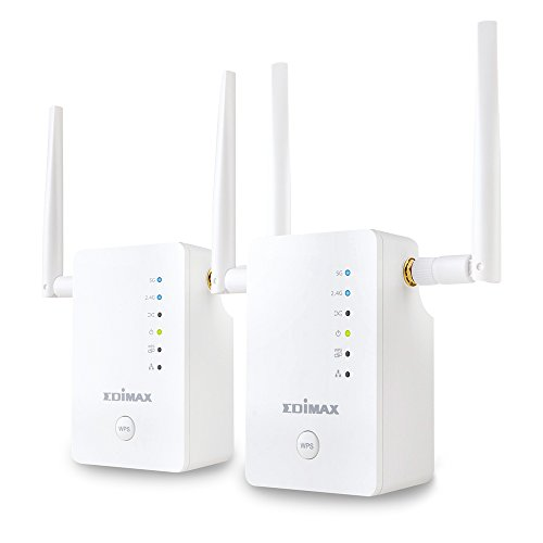 Roaming Kit  / Wless / AC1200 /  Dual Band / Gemini / WiFi Bridge - Edimax 802.11 N