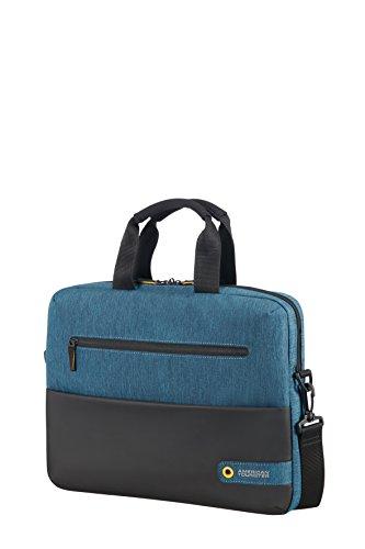 american-tourister-city-drift-bolsa-portaordenador-141-10-litros-color-negro-azul