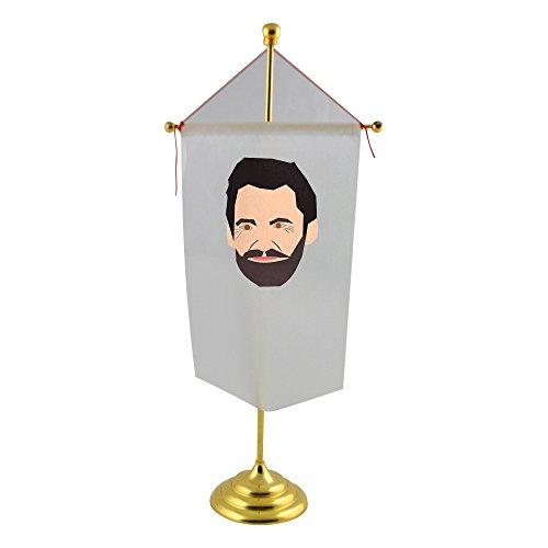 El famoso Actor de Australia Que a menudo retrata la Lobezno. Este es un Vector file fabricado en inkscape en. wikipedia. Org Wiki Hugo _ Jackman bandera de mesa