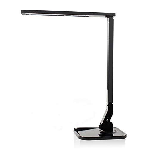 Schreibtisch Lampen LED Augenschutzlampe, Kein Strobe Minus Blue Light Student Lernen Schreibtisch Jobs Nachtzuleuchte,Black - Schreibtisch-job