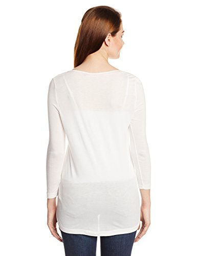 Kitten 3/4 Top Cloud Dancer Only Longsleeve, Damen, Shirt Cloud Dancer