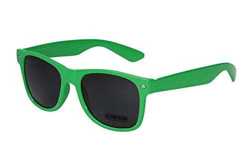 X-CRUZE 8-073 X0 Nerd Sonnenbrille Style Stil Retro Vintage Retro Unisex Herren Damen Männer Frauen...