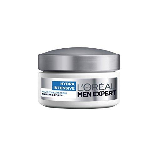 L'Oréal Men Expert L'Oréal Men Hydra Intensive Feuchtigkeitscreme Gesicht, Feuchtigkeitspflege für Männer, 1er Pack (1 x 50 ml)
