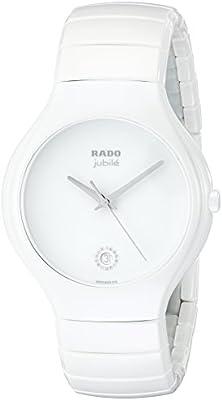 Rado True Women's 40mm White Ceramic Ceramic Case Sapphire Glass Watch R27695722