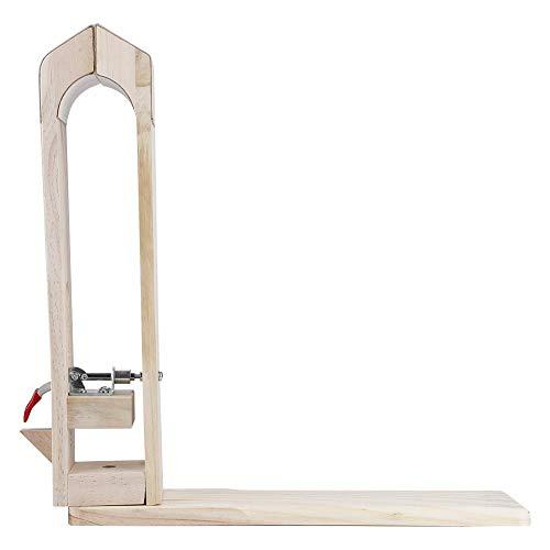 Zange aus Holz, professionell, für Basteln, Leathercraft, Schreibtisch, Leder, Schnürung, Nähen, Pony, Pferd, Zange mit Lederstab -