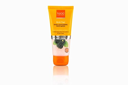 VLCC Anti Tan Skin Lightening Face Wash, 50g  available at amazon for Rs.108
