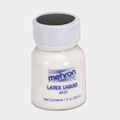 Mehron Latex Liquid 1 oz - Clear with Brush