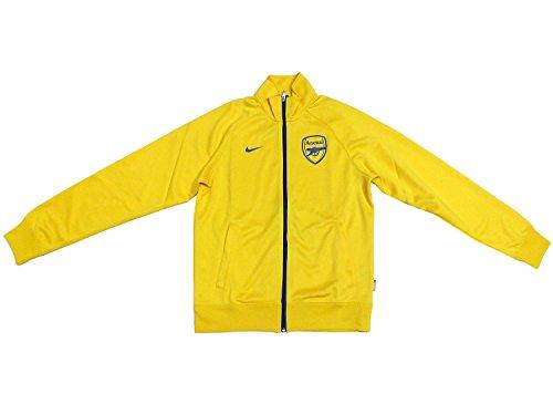 Nike ARSENAL Training Jacke 546710 Gelb 749, Farbe:gelb, Textilien Größen:S (Training Nike Arsenal)