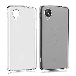 kwmobile LG Google Nexus 5 Hülle - Handyhülle für LG Google Nexus 5 - Handy Case in Matt Transparent