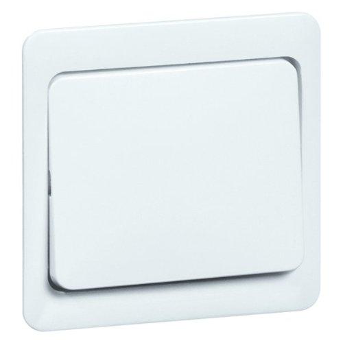 Peha 00187111 Standart Wippe 58 x 49 mm, für Wechsel-, Kreuzschalter und Taster neutral, reinweiß -