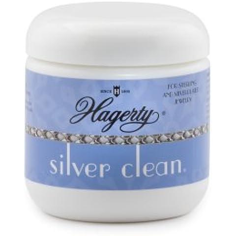 Hagerty 15507 - Limpiador de plata blanco 198g - Blanco, 198g, Plástico