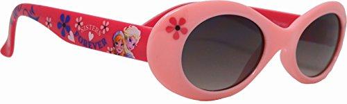 Occhiali da sole, da bambina a partire da 3 anni, motivo disney frozen, colore: rosa
