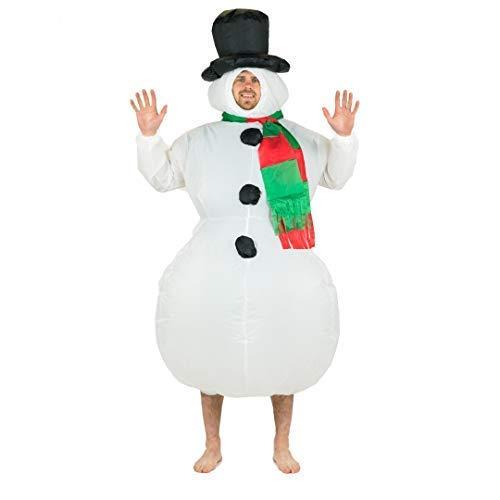 Bodysocks® Aufblasbares Schneemann Kostüm für ()
