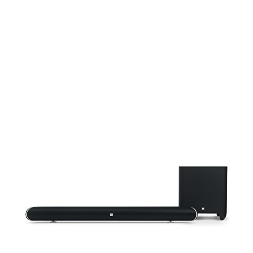 JBL Cinema SB450 4K Ultra-HD Wireless Sound Bar with Wireless Subwoofer (Black)