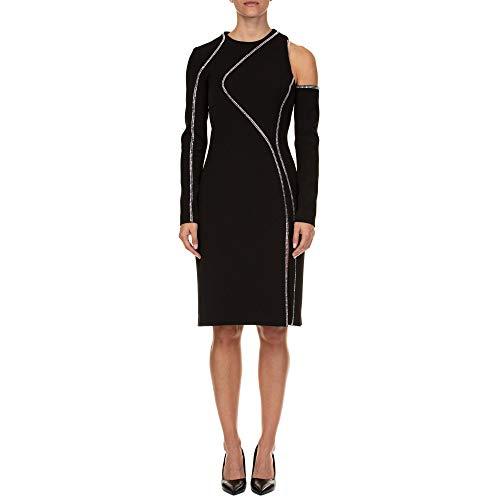 Versace Collection Damen G35760g603996g1008 Schwarz Polyester Kleid