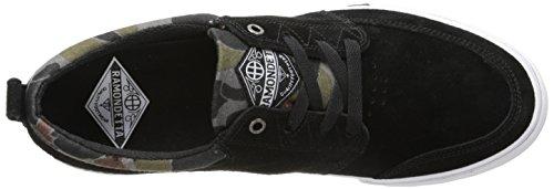 HUF, Scarpe da Skateboard uomo multicolore Navy/Gold Jet Black/Camo