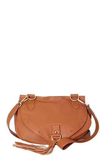 "BORSA A TRACOLLA ""Collins"" IN PELLE MARRONE ""SEE BY CHLOE'"""