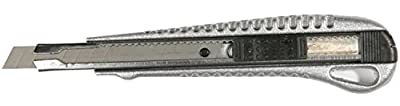 10 Stück Professional-Zink-Cuttermesser 9 mm, Profi Cuttermesser Alu, 10 x Teppichmesser für 9 mm Abbrechklingen von FD-Workstuff auf TapetenShop