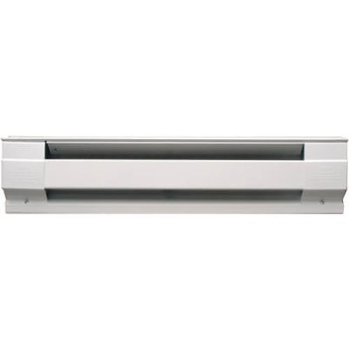 Cadet Manufacturing 09950 240-Volt White Baseboard Hardwire Electric Heater, 500-Watt, 30-Inch