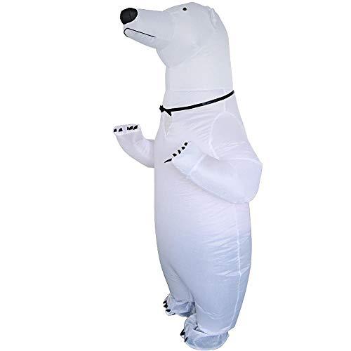 Eisbär Kostüm Aufblasbar - Lydia's Anime Cosplay Kleidung Nettes Aufblasbares