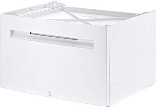 Bosch Siemens Universal Pedestal Stand for Washing Machine (with Storage Space with its Inbuilt Drawer), Made in Italy