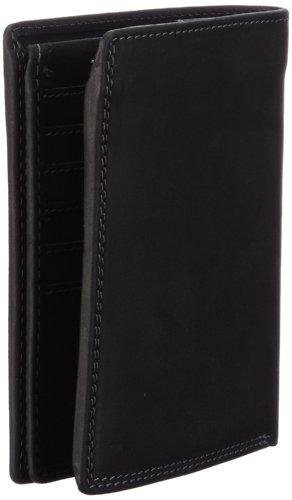 M-Collection Magic Portemonnaie (HF) 4900000318, Unisex-Erwachsene Geldbörsen 11x12x1 cm (B x H x T) Schwarz (Black 900)