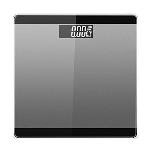 nal Einheitenumrechnung Temperaturanzeige Elektronische Haushaltswaage Mit 2 AAA-Batterien,Black ()