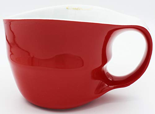 Colani Designer Jumbotasse große Tasse Humpen Kaffeetasse ab OVO Color 450ml (Rot/Red)
