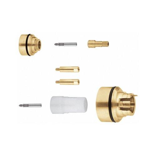 Grohe Zubehör - Verlängerungsset (27,5 mm, passend zu 35500000, Anwendung Wannenthermostat mit Aquadimmer) 47781000