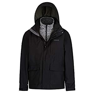 Regatta Herren Northton Ii 3 in 1 Waterproof and Breathable with Zip-Out Fleece Jacke