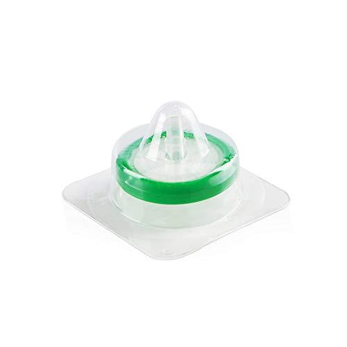 Spritzenfilter, Membrane Solutions Laborzubehör, steril, PES, 0,22 Mikron, Porengröße, 33 mm Durchmesser, 10 Stück -