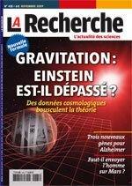 La Recherche N° 435 : Gravitation : Einstein Est-Il Dépassé ? Des données cosmologiques bousculent la théorie par revue