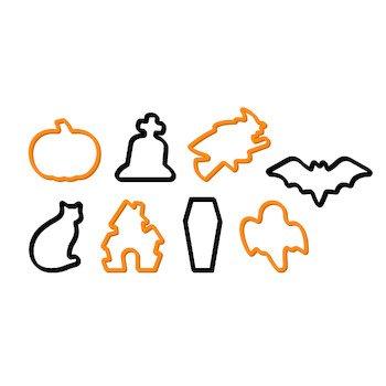 Tescoma Delicia Ausstecher, Halloween, 8Stück, sortiert