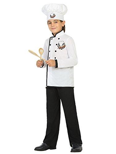 ostüm Küchenchef schwarz-weiss 152/158 (10-12 Jahre) (Berufliche Kostüme)