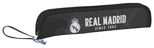 Real Madrid- Portaflautas, Color Negro (SAFTA 811757284),, 37 cm (