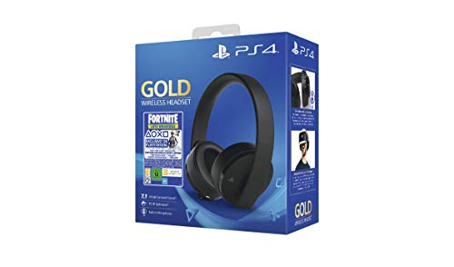 Sony - Gold Edición Headset Fortnite VCH 2019 PS4
