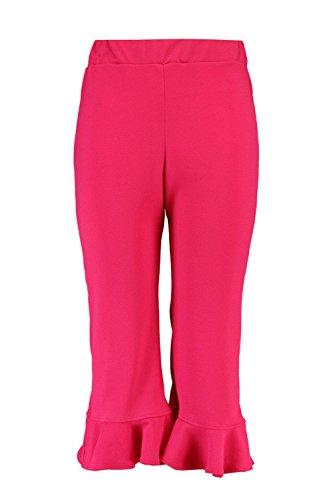 Femmes Cerise plus isla pantalon jupe-culotte à ourlet volanté Cerise