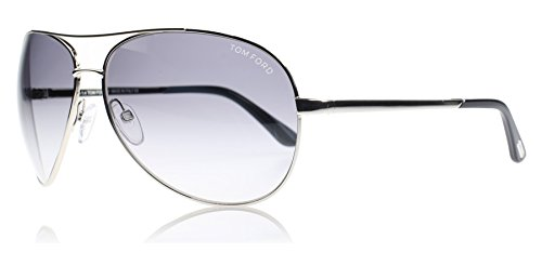 Tom Ford 0035 753 Silber Charles Aviator Sunglasses Lens Heading 2