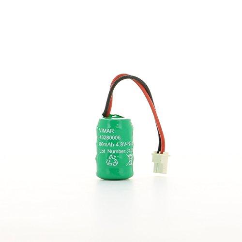 Vimar 00910 Batteria Ricaricabile Ni-MH 4,8V 80mAh per torce...