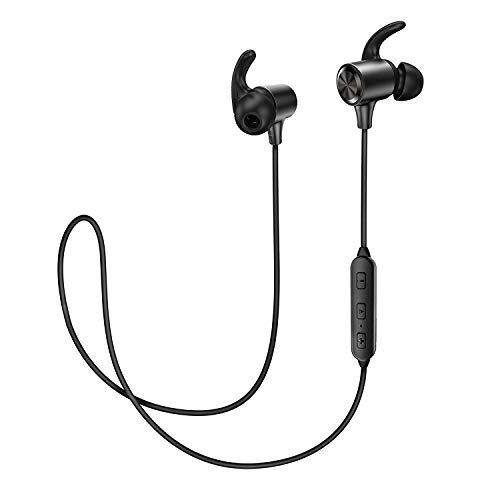 1b029bce3ef Bluetooth Headphones, TaoTronics Wireless Earphones with 8 Hours Playtime  Sport Sunvally Earbuds aptX In Ear