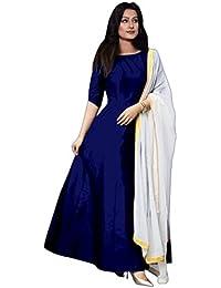 Fragrance Trendz Women s Tapeta Silk Anarkali Fancy Gown. (204 Free Size) 6993d9c06