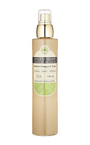Vitae Cosmetics Skin Care Huile de Beauté Mangue Tiaré Corps 100 ml