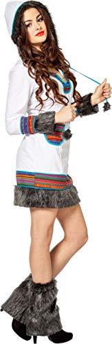 Inuit Kostüm Damen - Damen Kostüm Eskimo Inuit Eskimokostüm